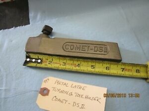 Metal Lathe Turning Tool Holder Comet ds Ii