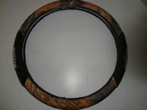King S Woodland Shadow Camo Universal Fit Car Truck Steering Wheel Cover