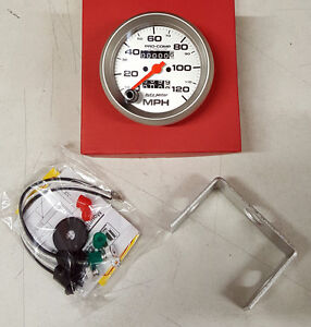 Sale Auto Meter Ultra Lite In Dash Mechanical Speedometer 3 3 8 In 120 Mph