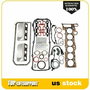 For 01 02 Bmw E46 X5 Dohc Engine Cylinder Head Lower Crankcase Gasket Set