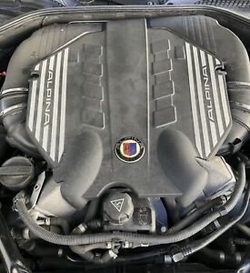 Bmw Alpina B7 4 4l Twin Turbo Engine