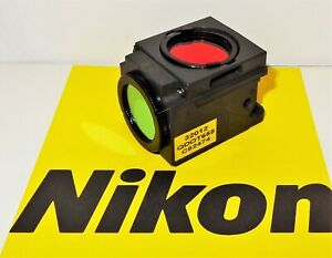 Nikon Qdot 655 Fluorescent Microscope Filter Cube For E400 600 800 Te200 300