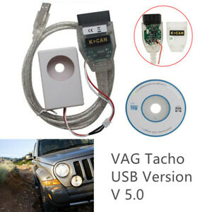 Usb Version 5 0 Vag Tacho For Audi Built in Programmer For Id48 Transponders