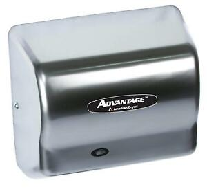 Commercial Bathroom Automatic Electric Touchless Air Hand Dryer Stainless Steel