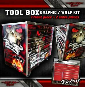 Tool Box Wrap Kra4059fpbo 26 Snap on Vinyl Skin Top sides back Only