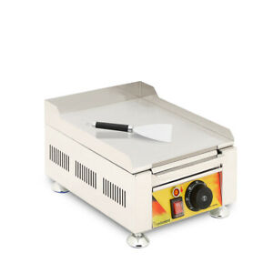 Commercial Home Electric Countertop Flat Cooking Griddle Grill Iron Machine Llc