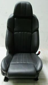 2013 2016 13 Bmw F10 550i 535 M5 Front Right Passenger Leather Seat Merino Black