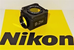 Nikon B 2h Fluorescent Microscope Filter Cube For Labophot Optiphot Microphot