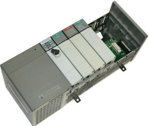 Loaded Allen Bradley 7 Slot Slc 500 Plc 5 03 System 3 Available