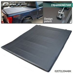Lock Four Fold Tonneau Cover 6 8 Ft Short Bed Fit For 99 17 Ford F250 F350 F450
