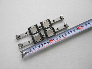 Thk Rsr12vm Linear Bearings Rails L170mm Cnc Nsk Router Block