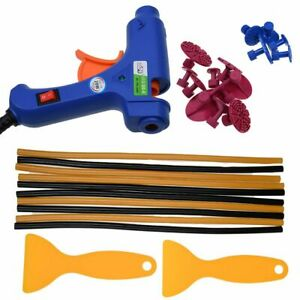 Paintless Dent Repair Kit Car Tool Tools Removal Puller Tabs Lifter Auto Set New