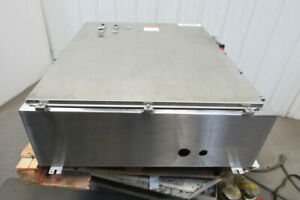 Hoffman A42hs3712sslp 42x37x12 Stainless Steel Enclosure W extras See Info