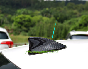 Real Carbon Fiber Roof Shark Fin Antenna Cover Trim For Lexus Rc200 300 2015 19