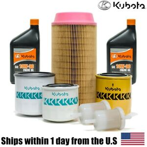 Kubota Zd331 Zd326 Lawn Mower Filter 10w 30 Engine Oil Maintenance Kit