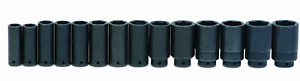 Williams Ws 14 14rc 14 Piece 1 2 Inch Drive Deep 6 Point Impact Socket Set