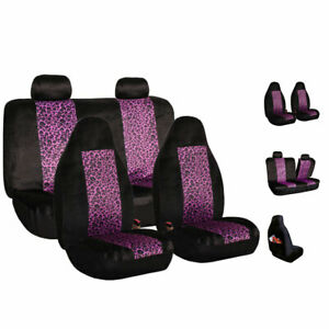Car Seat Covers Top Quality Sport Front Back Purple For Car Truck Suv