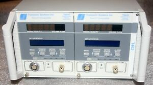 Transonic Systems T402 Console With Two 2 Ts410 Tubing Flowmeters see Photos