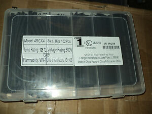 Power First 4rcx4 Heat Shrink Tubing Kit Black Pk102