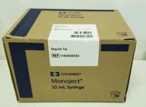 Covidien Monoject Syringe 35 Ml Regular Tip Sterile New Box Of 40 Syringes