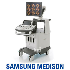 4d Medison Accuvix Xg Ultrasound Samsung System Machine With 4d 3d Convex