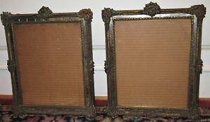 Vintage Pr Art Deco Hollywood Regency French Style Mirrored Frames C1920s