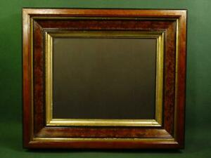 Handsome Vintage Antique Victorian Shadow Box Picture Frame 12x14 5 Nice