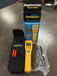 Fieldpiece Megohmmeter Smg5 Comes W Carrying Case lam019656