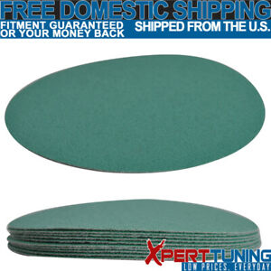 10 Pc Wet Or Dry 5 Inch No Hole Sandpaper Disc 100 Grit Body Repair Sand Sheet