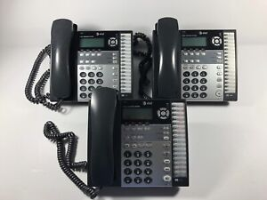 At t 4 line Small Business System Corded Telephone 1070 tested