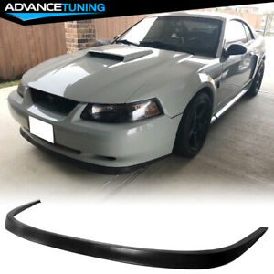 For 99 04 Ford Mustang Oe Style Pu Front Bumper Lip Spoiler