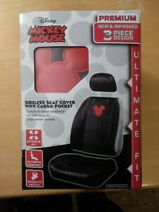 Mickey Mouse Premium Vinyl Ultimate Fit Sideless Car Seat Cover