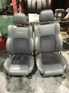 2006 Jeep Grand Cherokee Srt8 Bucket Leather Electric Front Oem