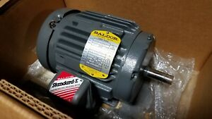 Brand New Baldor 1 Hp 3 Phase Motor M3581t 1740 Rpm 208 230 460 Volt