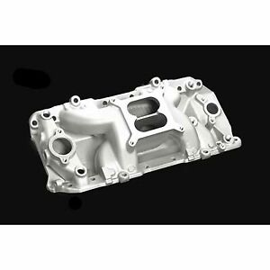 Professional Products 53026 Crosswind Intake Manifold Carbureted Bbc Oval Port