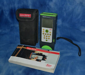 Leica Disto Classic 5a Laser Measure Tool With Case Tested With Manual