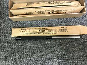 Starrett Drive Pin Punch 5 16 X 8 Long 51184 248d new Free Shipping