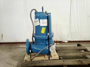 Goulds Water Technology Ws3034d4 3 Hp 1750 Rpm 460vac Submersible Sewage Pump