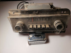 Vintage Am Fomoco Ford Original Radio Unknown Vehicle