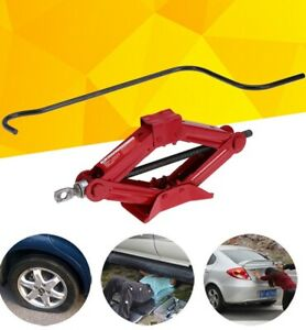 Heavy Duty Scissor Jack Durable Changing Tires Tools For Automobile Vehicle Cars