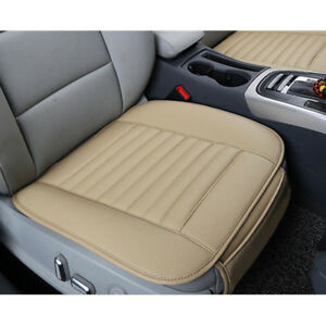 Pu Leather Deluxe Car Cover Seat Protector Cushion Front Cover Accessories Free