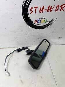 2005 Subaru Forester Rear View Mirror Oem Compass With Harness And Cover