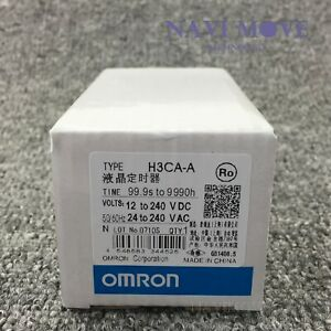New In Box Omron H3ca a Timer 24 240v Ac vdc Us Stock