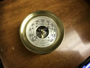 Vintage Chelsea Shipstrike Barometer 5 5 Diameter As Is Parts Only