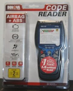 Innova 3100j Code Reader With Airbag Abs 700 2610 Brand New Ships Free