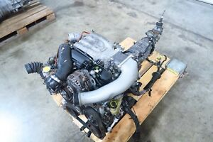 Jdm Mazda Rx 7 13b re Twin Turbo Rotary Engine Ecu 5 Speed Transmission Fd3s 13b