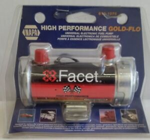 Napa Facet High Performance Gold Flow Universal 12v Dc Electric Fuel Pump