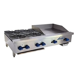 Comstock castle Fhp48 24 Griddle Hotplate Gas Countertop