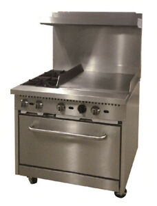 Comstock castle R6 24 Range 36 Restaurant Gas