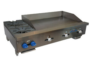 Comstock castle Fhp48 36t Griddle Hotplate Gas Countertop